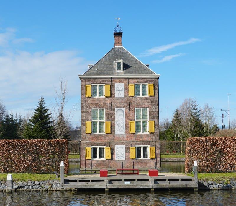 Musée dans Voorburg aux Pays-Bas photo libre de droits
