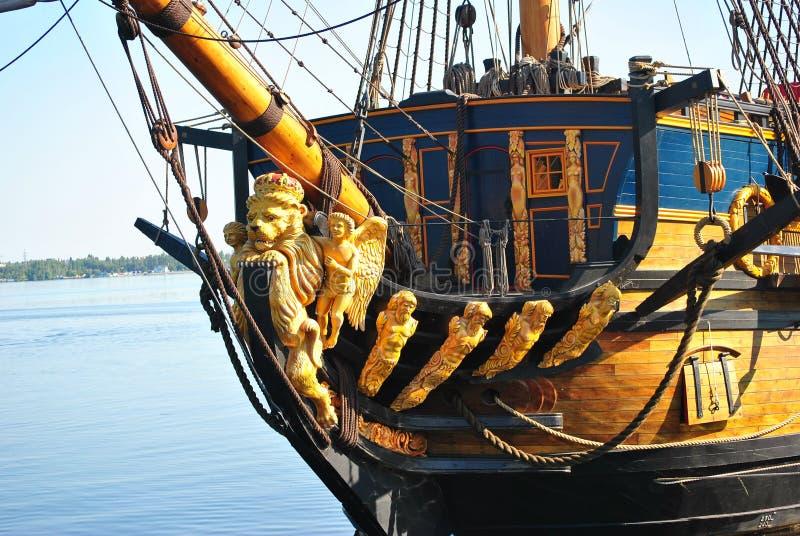 Musée de bateau dans Voronezh, Russie photo stock