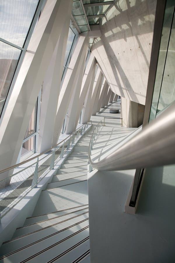 Musée de benz de Mercedes de Stuttgart images libres de droits