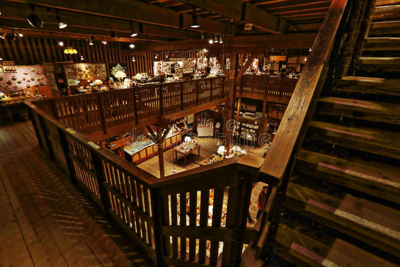 Musée de boîte à musique d'Otaru images libres de droits