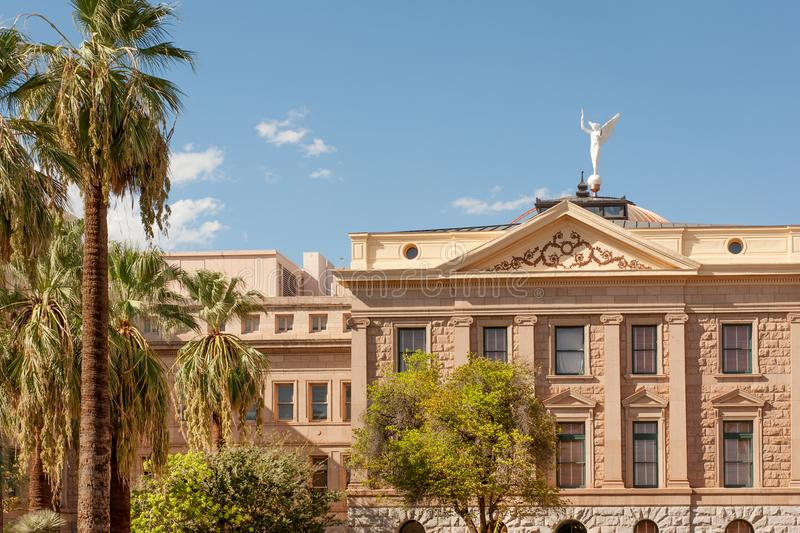 Musée de capitol d'état de l'Arizona photo stock