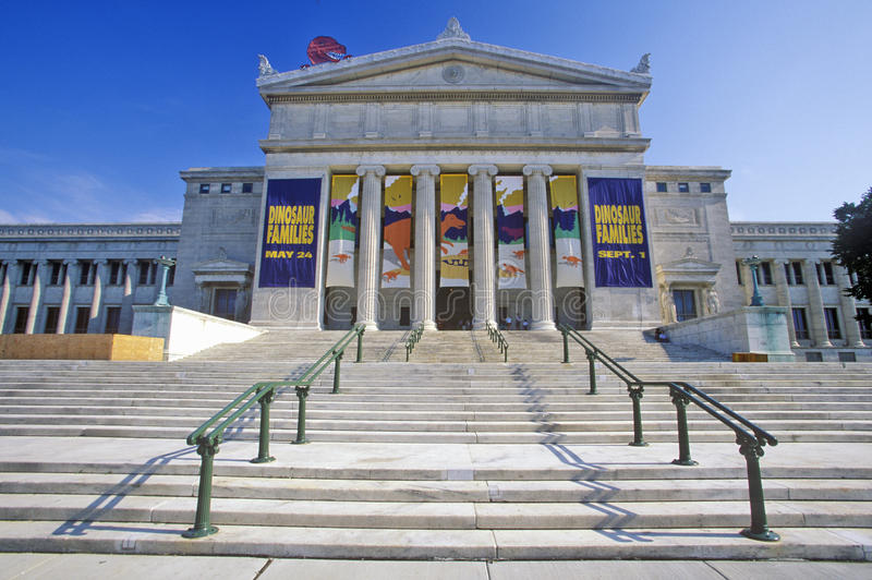 Musée de champ d'histoire naturelle, Chicago, l'Illinois photos stock