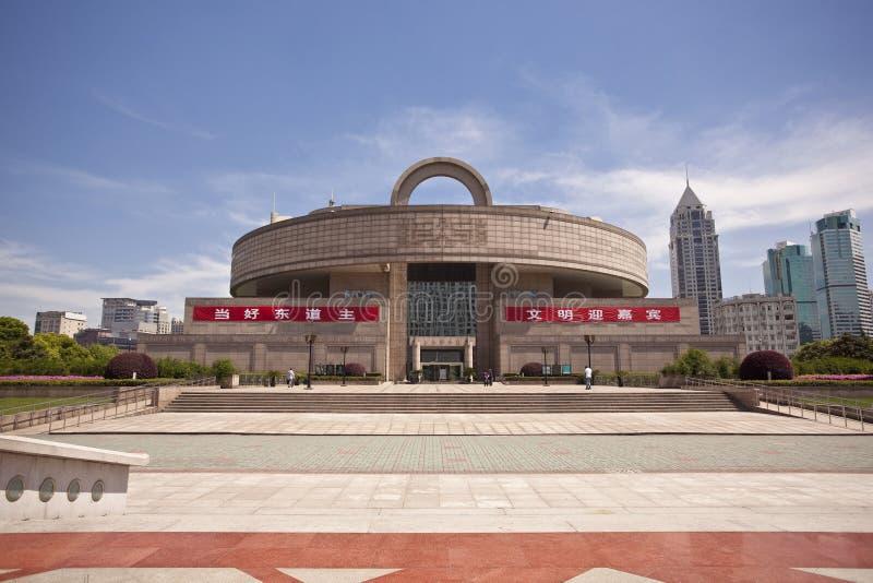 Musée de Changhaï images libres de droits