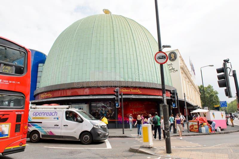 Musée de cire de Madame Tussauds de Londres photo libre de droits