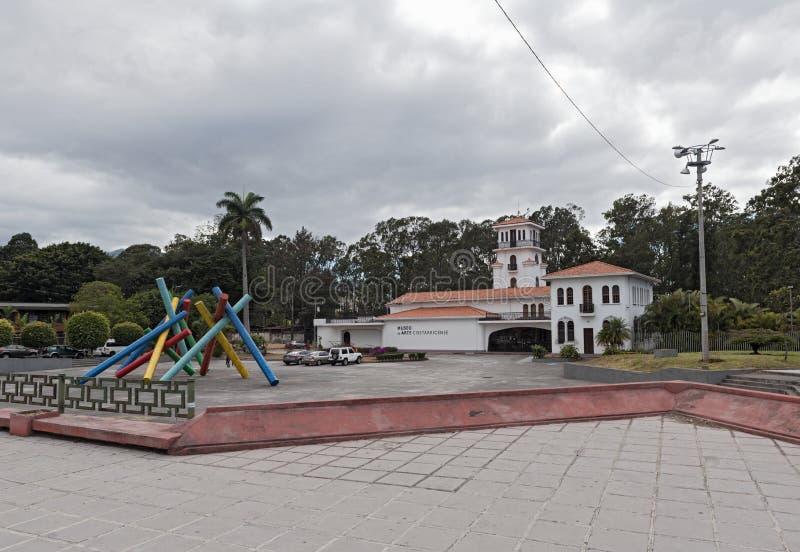 Musée de Costa Rican Art, San Jose, Costa Rica images stock