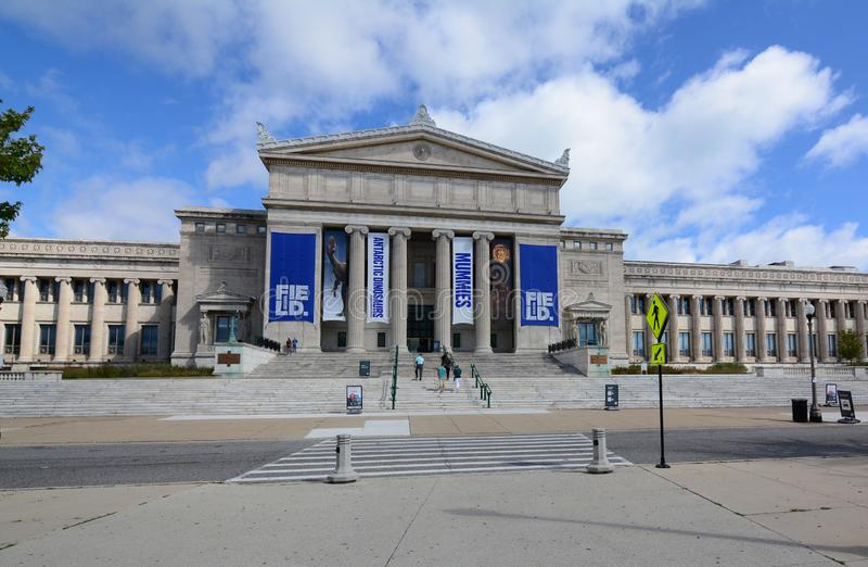Musée de The Field d'histoire naturelle Chicago 2018 image stock