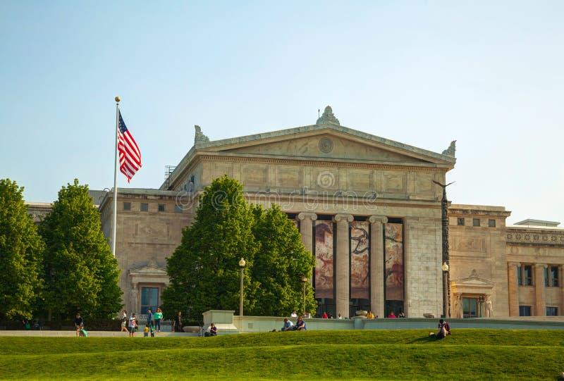 Musée de The Field d'histoire naturelle Chicago photo stock