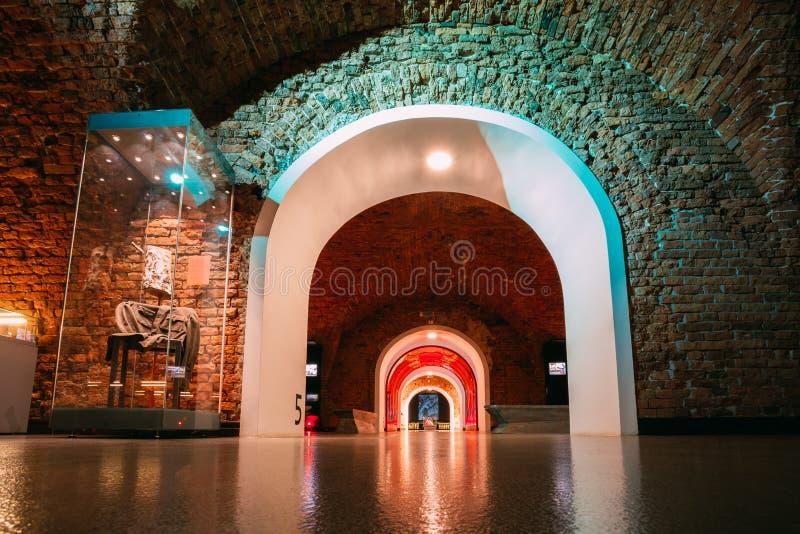 Musée de forteresse de Brest à Brest, Belarus photographie stock libre de droits