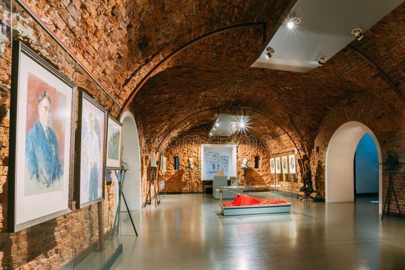 Musée de forteresse de Brest à Brest, Belarus photos libres de droits