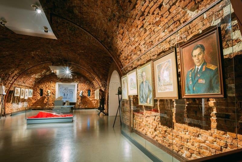 Musée de forteresse de Brest à Brest, Belarus image libre de droits