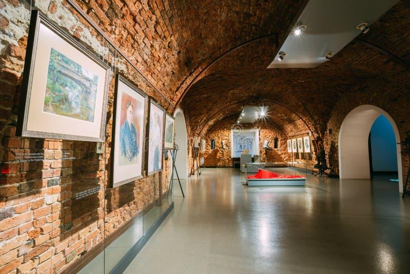 Musée de forteresse de Brest à Brest, Belarus photos stock