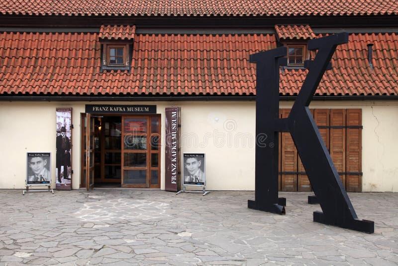 Musée de Franz Kafka, Prague, République Tchèque photos stock