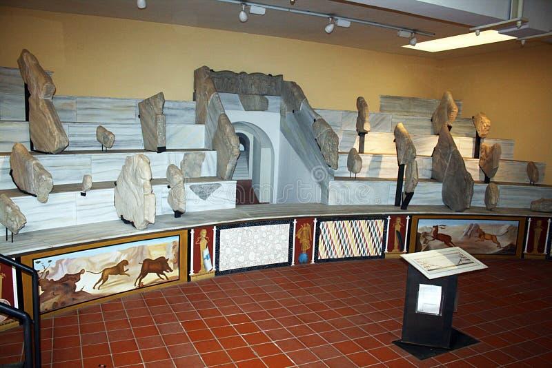 Musée de gladiateurs de Capua photos stock