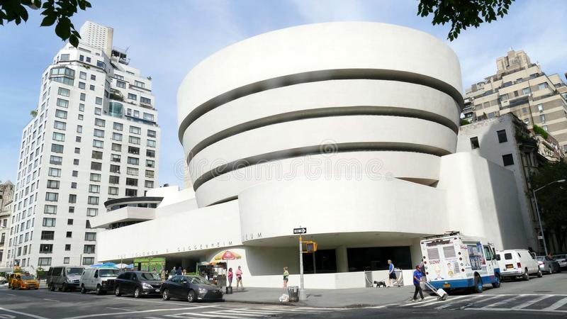 Musée de Guggenheim à New York City images stock