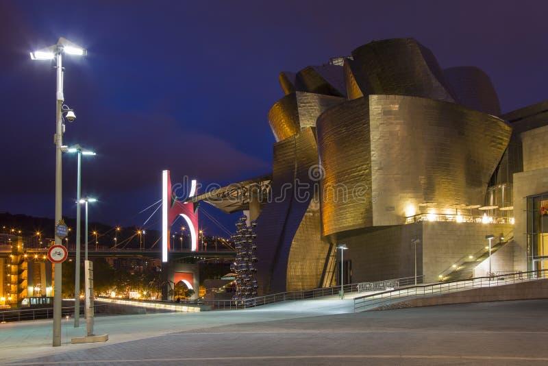 Musée de Guggenheim - Bilbao - Espagne image stock