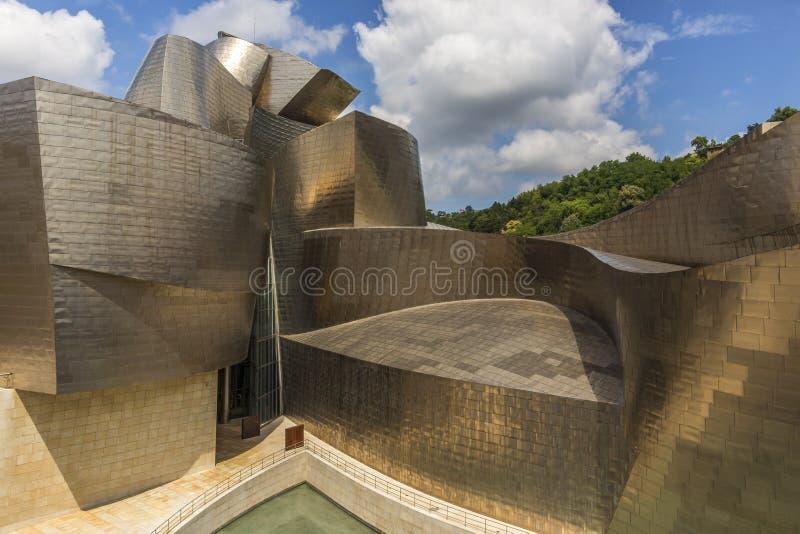 Musée de Guggenheim - Bilbao - Espagne photographie stock