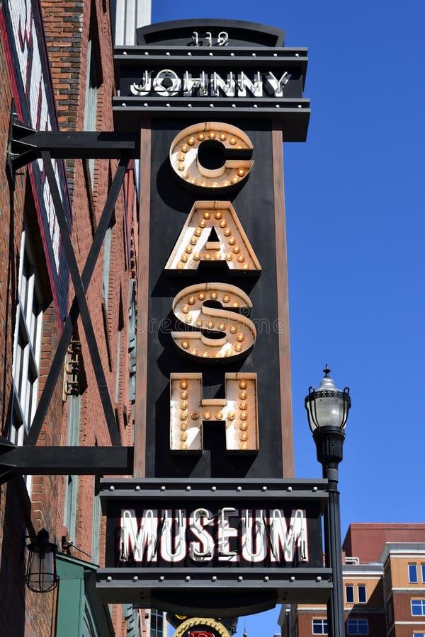 Musée de Johnny Cash au Tennessee images stock