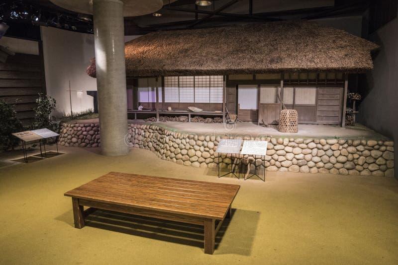 Musée de jouet de Warabekan dans Tottori Japon de gare images stock