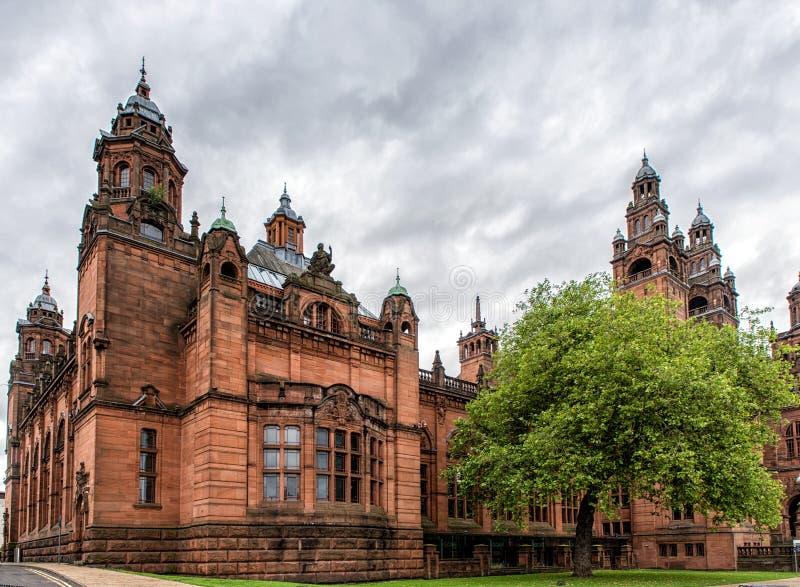 Musée de Kelvingrove, Glasgow, Ecosse images libres de droits