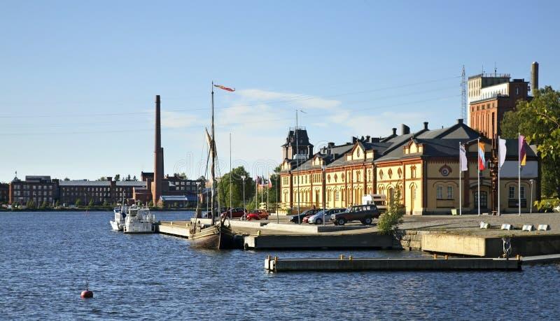 Musée de Kuntsi dans Vaasa finland image stock