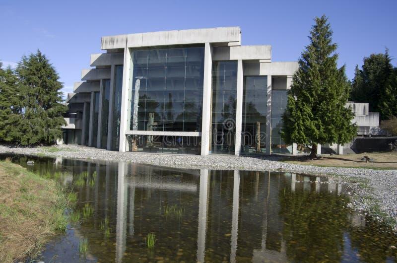 Musée de l'anthropologie à UBC images stock