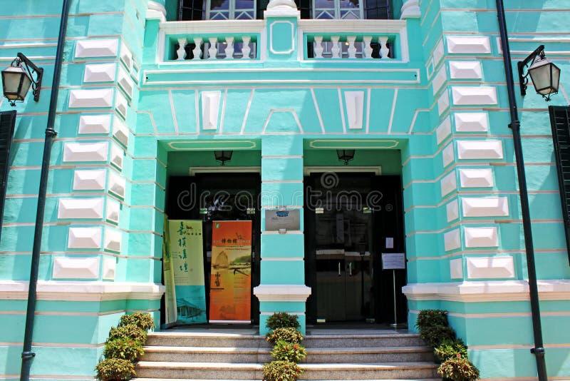 Musée de l'histoire de Taipa et de Coloane, Macao, Chine photographie stock