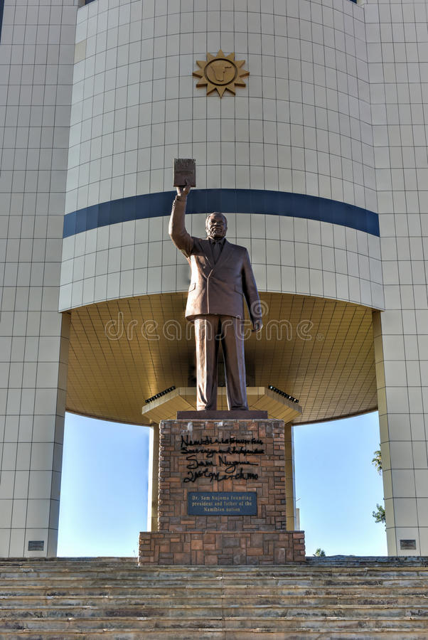 Musée de l'indépendance, Windhoek, Namibie, Afrique image libre de droits