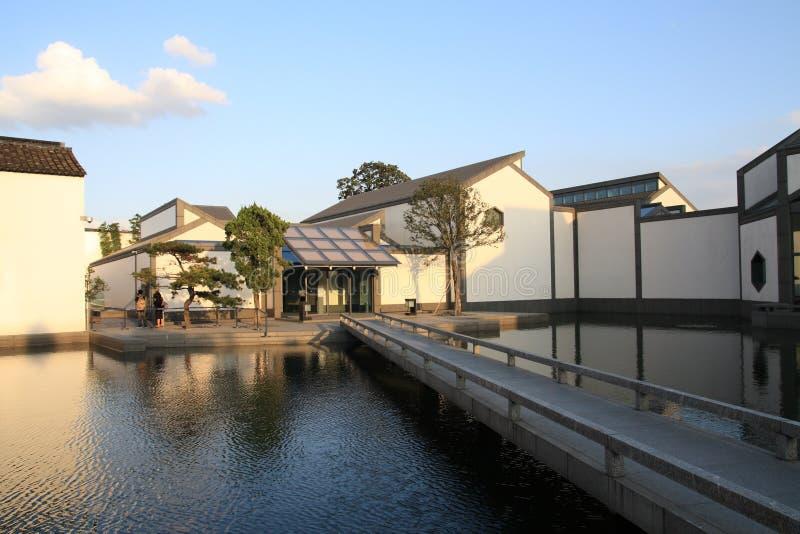 Musée de la Chine Suzhou image stock