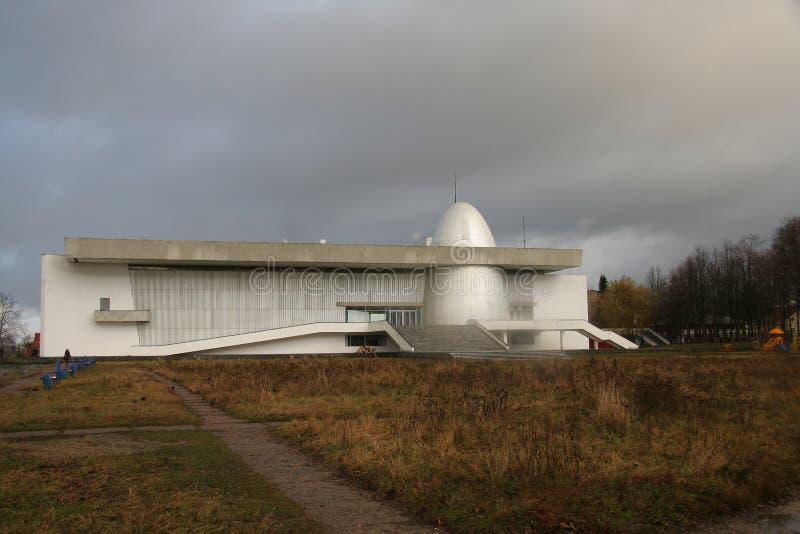 Musée de la cosmonautique dans Kaluga images stock