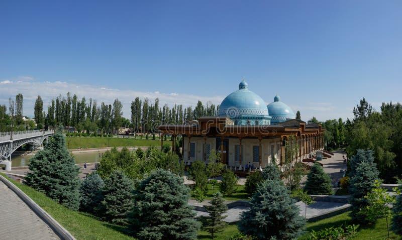 Musée de la mémoire des victimes de la répression Shakhidlar Hotirasi, Tashkent, l'Ouzbékistan image libre de droits