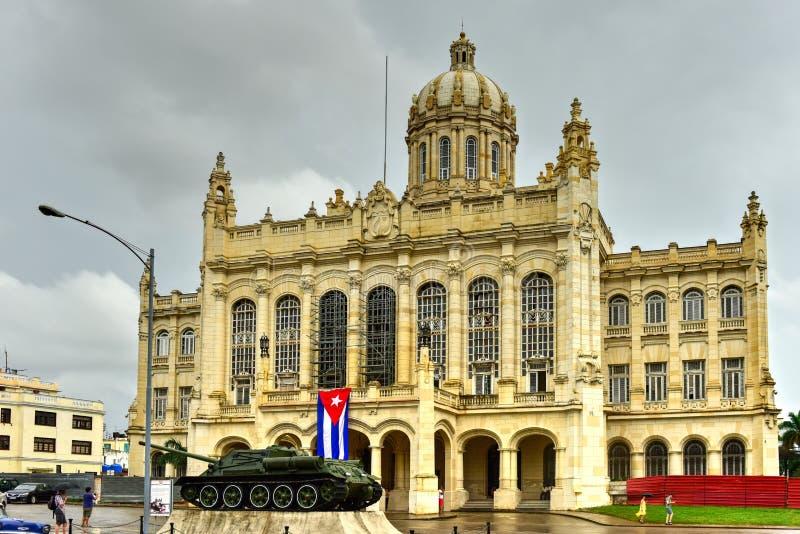 Musée de la révolution à La Havane photographie stock libre de droits