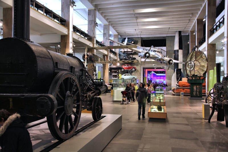 Musée de la Science de Londres photo libre de droits