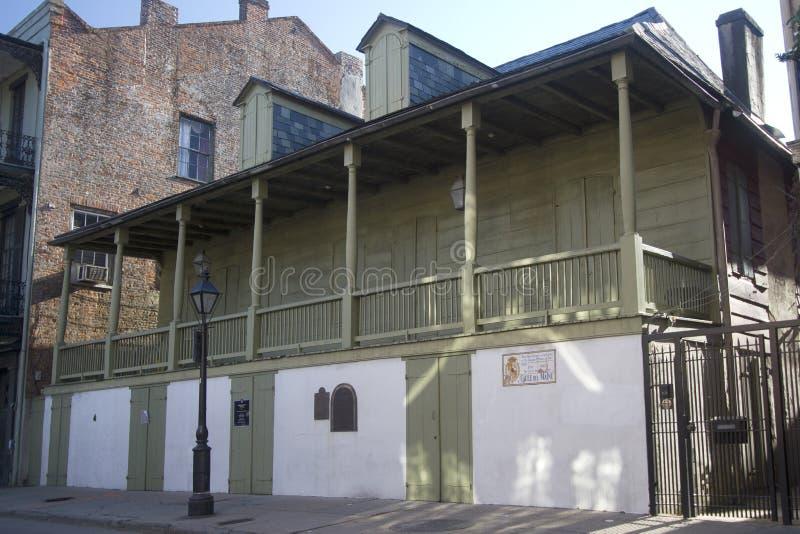 Musée de legs du ` s de Madame John à la Nouvelle-Orléans images stock