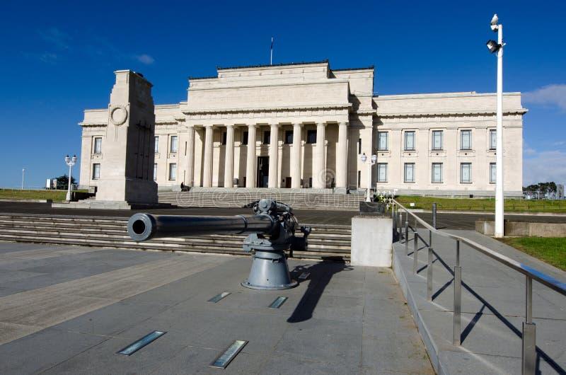 Musée de mémorial de guerre d'Auckland photographie stock