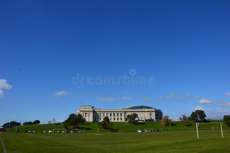 Musée de mémorial de guerre d'Auckland image stock