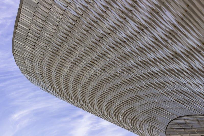 Musée de MAAT d'architecture et de technologie, Lisbonne, Portugal photographie stock libre de droits