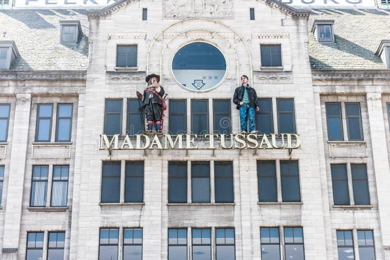 Musée de Madame Tussaud à Amsterdam images stock