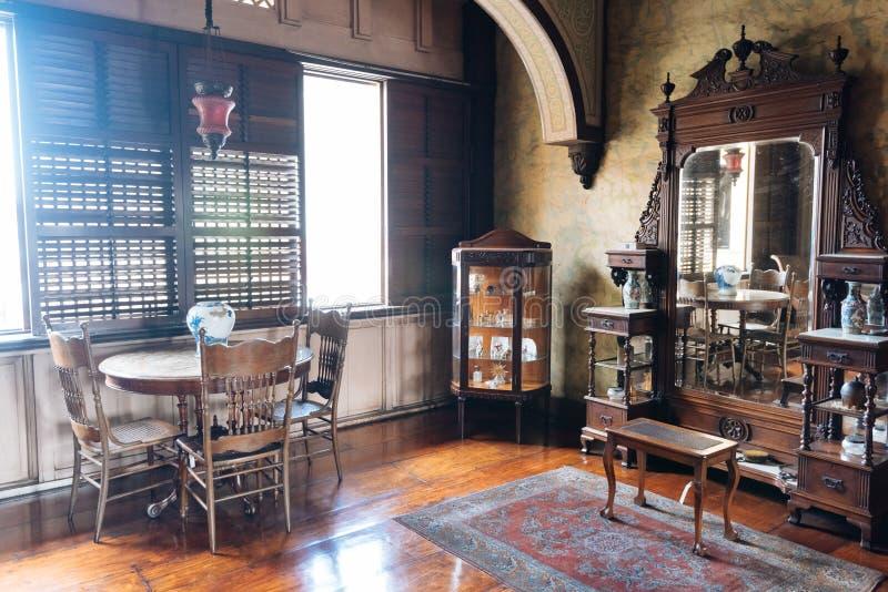 Musée de Manille de maison à Manille Philippines photographie stock libre de droits