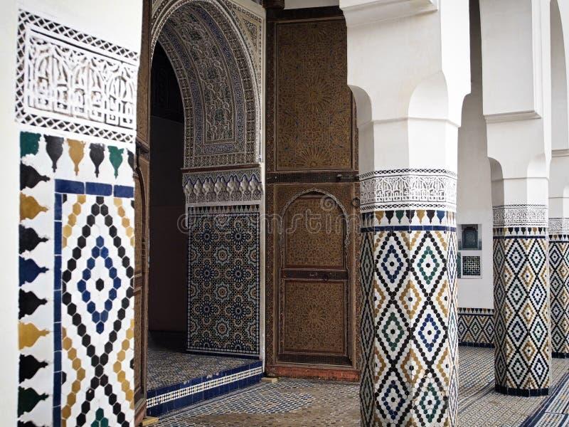 Musée de Marrakech image stock