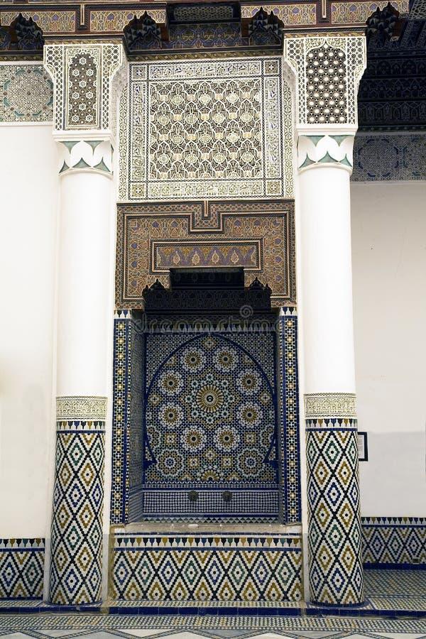 Musée de Marrakech photo stock
