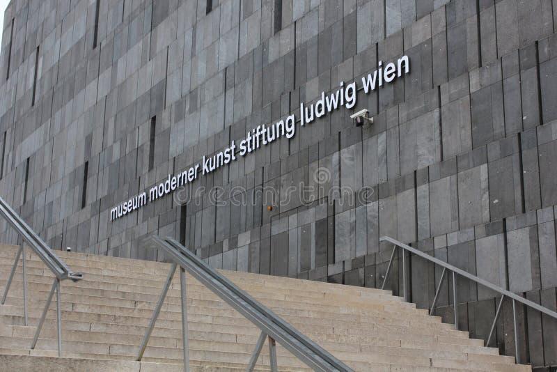 Musée de Mumok à Vienne photos stock