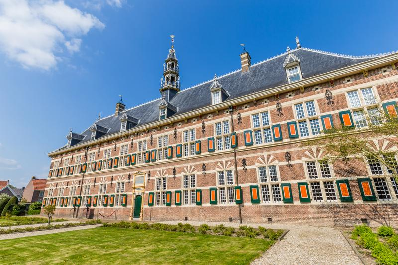 Musée de police militaire en Buren, Gueldre en Th Pays-Bas photos libres de droits