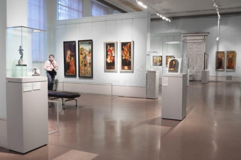 Musée de Pushkin image libre de droits