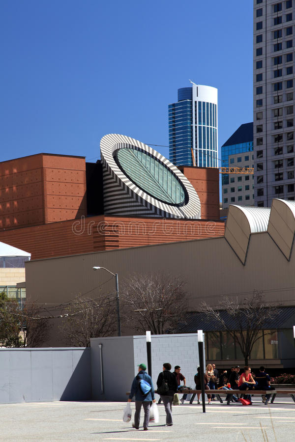 Musée de San Francisco d'art moderne photographie stock libre de droits