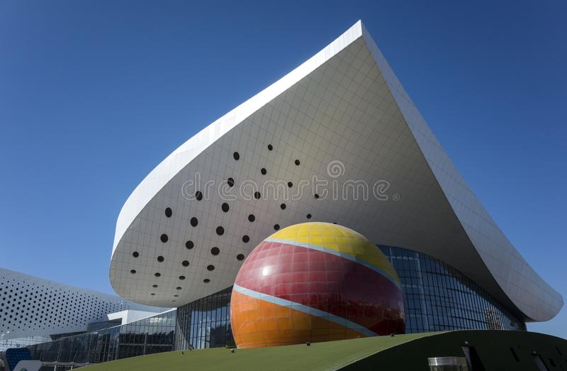 Musée de science et technologie de l'Inner Mongolia photo stock