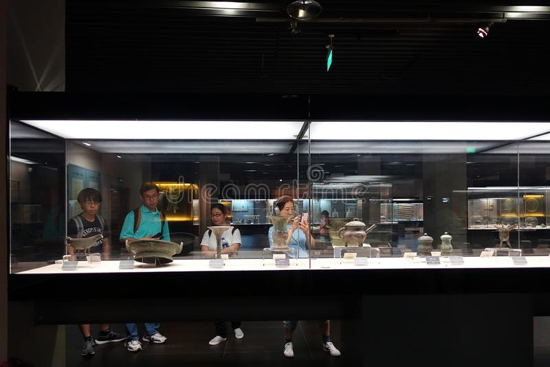 Musée de Shaanxi de l'histoire image libre de droits