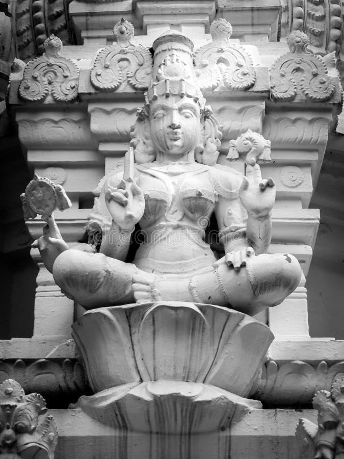 Musée de Sri Venkateswara d'art de temple dans Tirupati, Inde image libre de droits