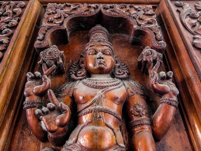 Musée de Sri Venkateswara d'art de temple dans Tirupati, Inde photographie stock
