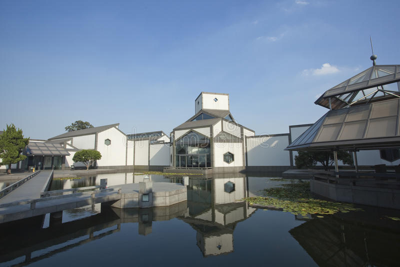 Musée de Suzhou photo stock