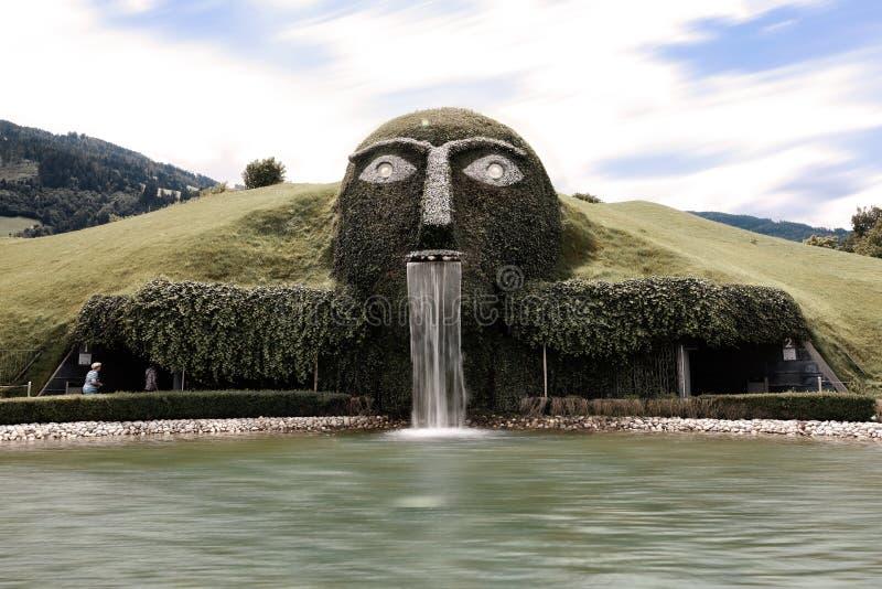 Musée de Swarovski Kristallwelten dans Wattens photos libres de droits